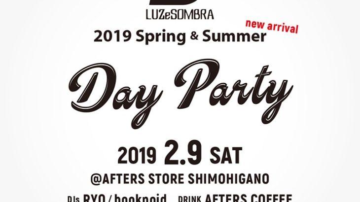 LUZ e SOMBRA 2019SS 明日よりスタート