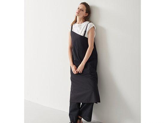 kha:ki / SLANTING NECK DRESS再入荷&新作