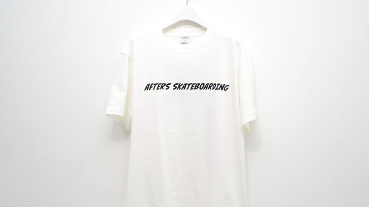 AFTERS SKATEBOARDING / Facial Expression TEE