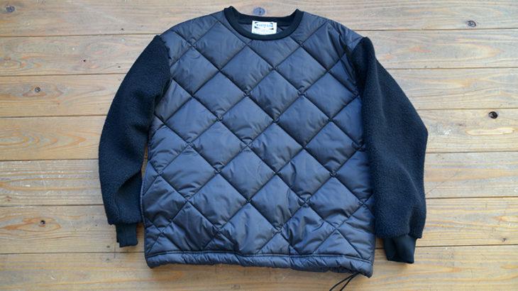 WHITE LINE / Kilt ×Wool Boa Pullover Jacket