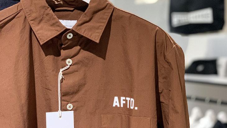 【1/3(金)発売開始】AFTD. L/S SHIRT Product of Manual Alphabet