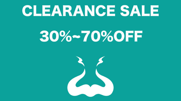 CLEARANCE SALE開催
