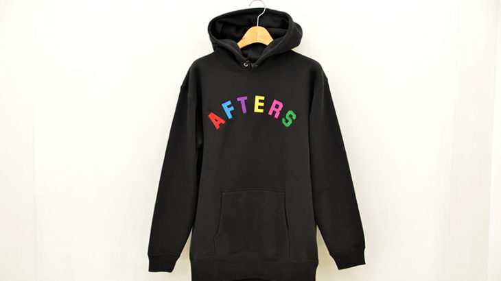 AFTERS / MULTI ARCH LOGO HOODIE