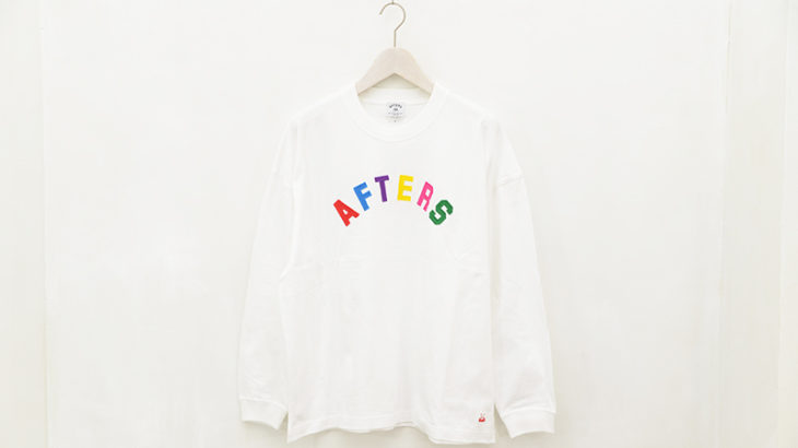 AFTERS / MULTI ARCH LOGO L/S TEE 本日発売
