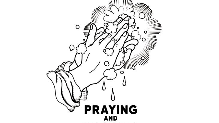 祈りと手洗い