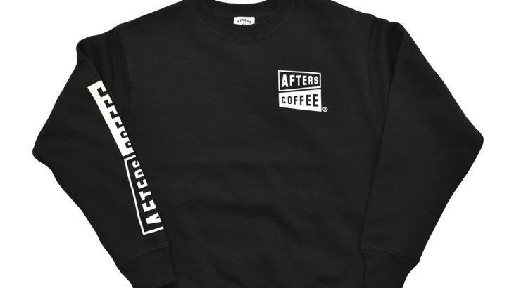 【1/16(土)発売開始】AFTERS COFFEE / AC CREW SWEAT