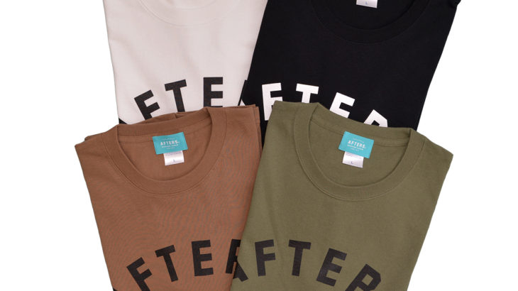 AFTERS / ARCH LOGO TEE,B.L POCKET TEE発売