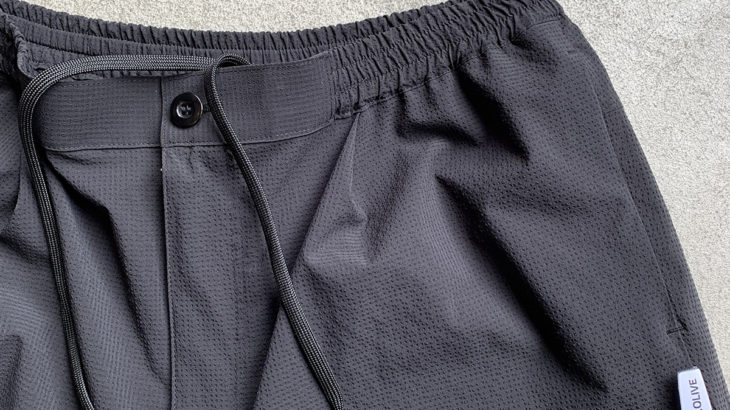 MR.OLIVE / SOLOTEX GINGHAM TAPERED AIR PANTS