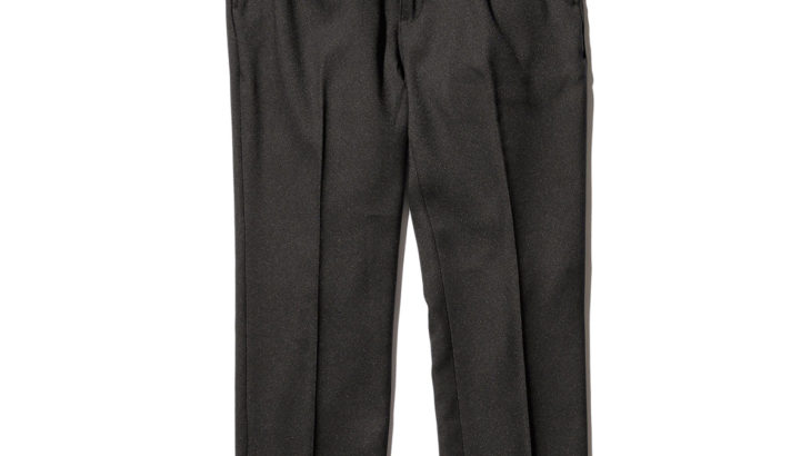 MR.OLIVE / RETRO POLYESTER TWILL PANTS